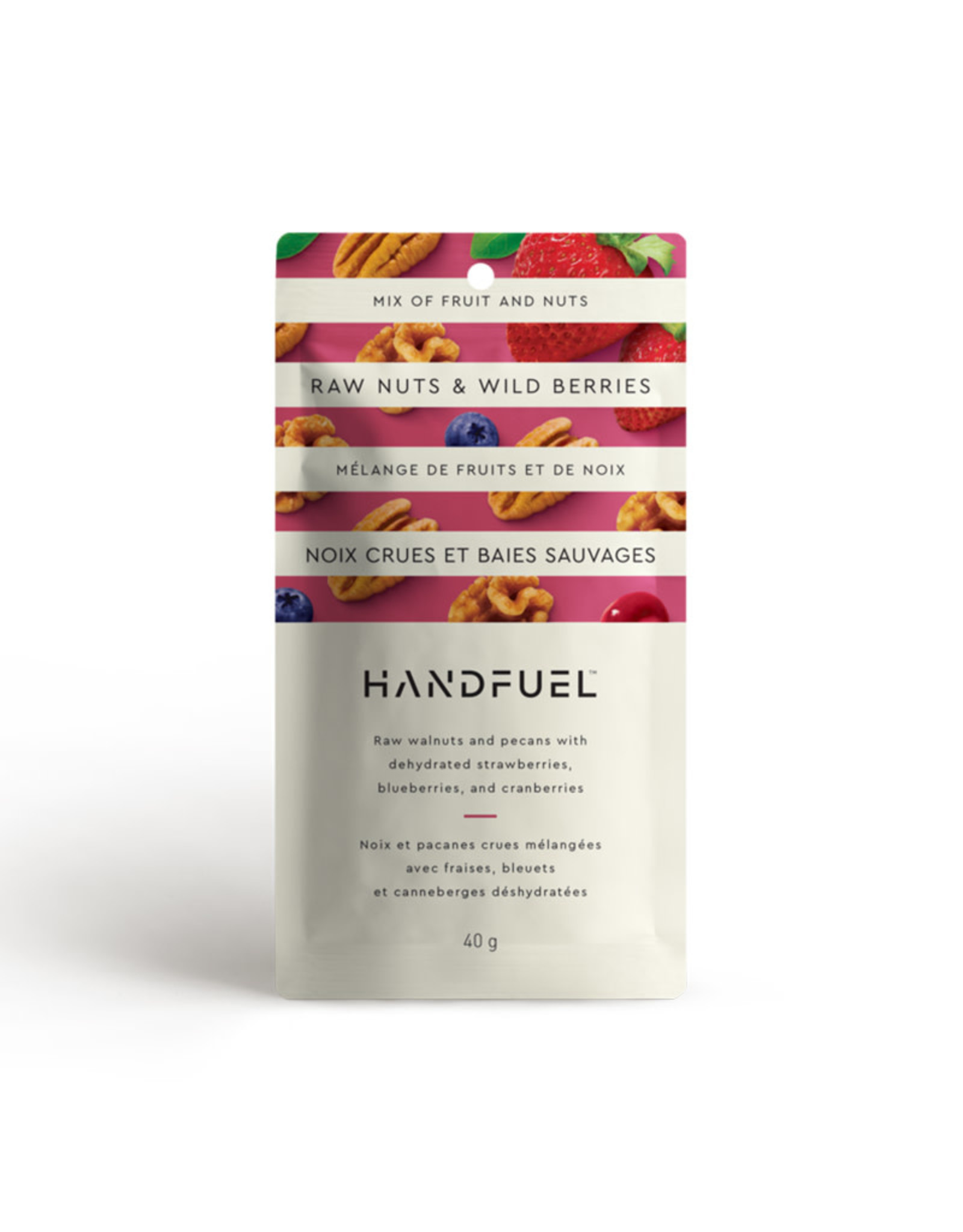 Handfuel Handfuel - Raw Nuts & Wild Berries (40g)