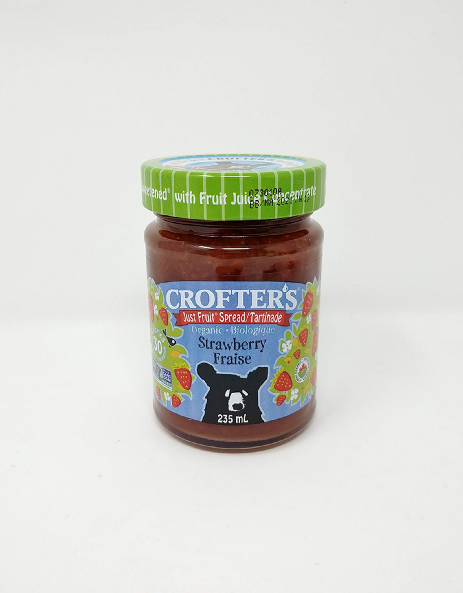 Crofters Organic Crofters Organic - Just Fruit Spread, Strawberry (235ml)
