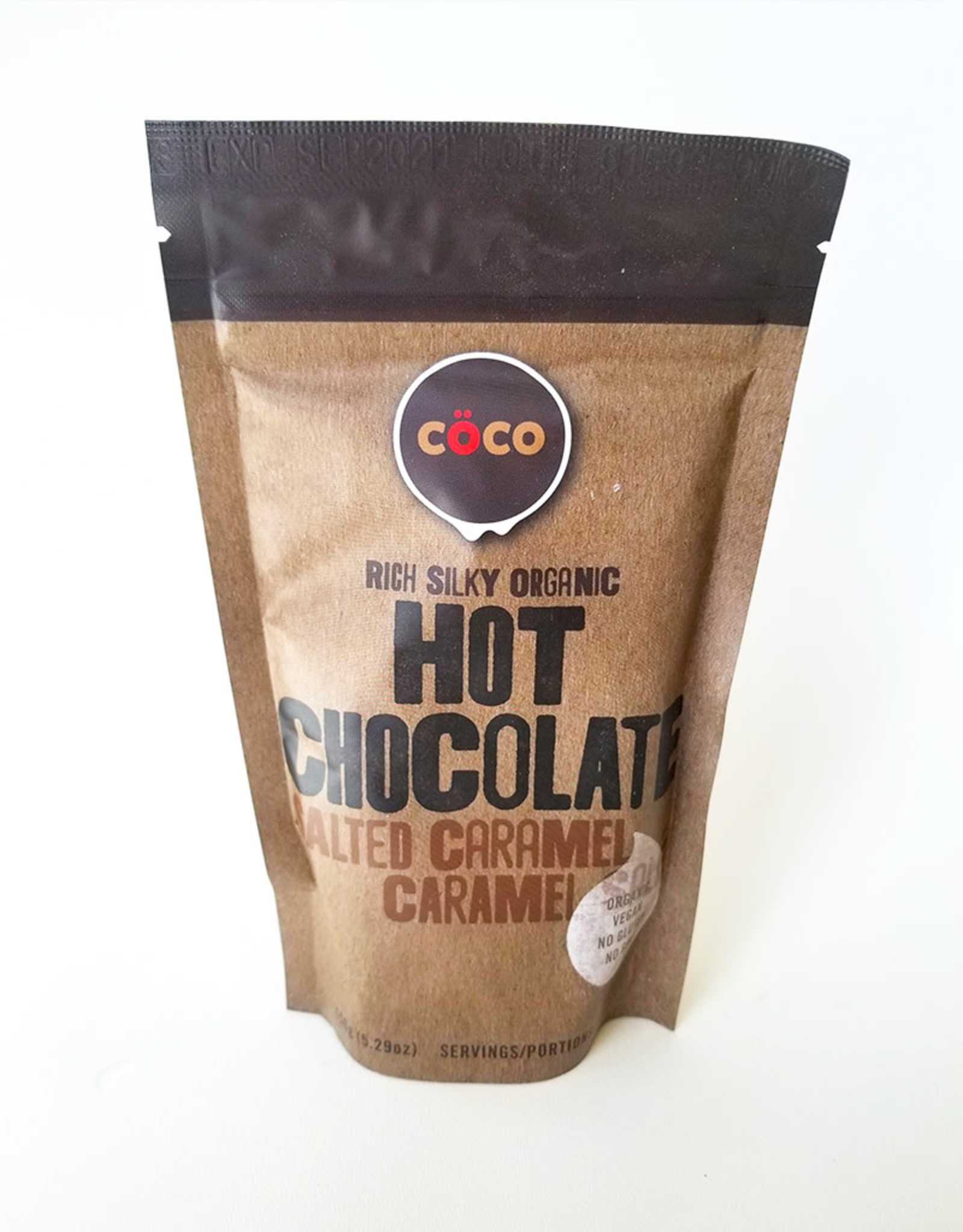 COCO COCO - Organic Hot Chocolate, Salted Caramel