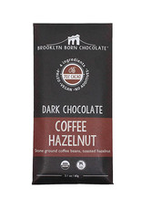 Brooklyn Born Chocolate Brooklyn - Paleo Chocolate Bar, Dark Coffee Hazelnut (60g)