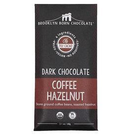 Brooklyn Born Chocolate Brooklyn - Paleo Chocolate Bar, Dark Coffee Hazelnut (60g)