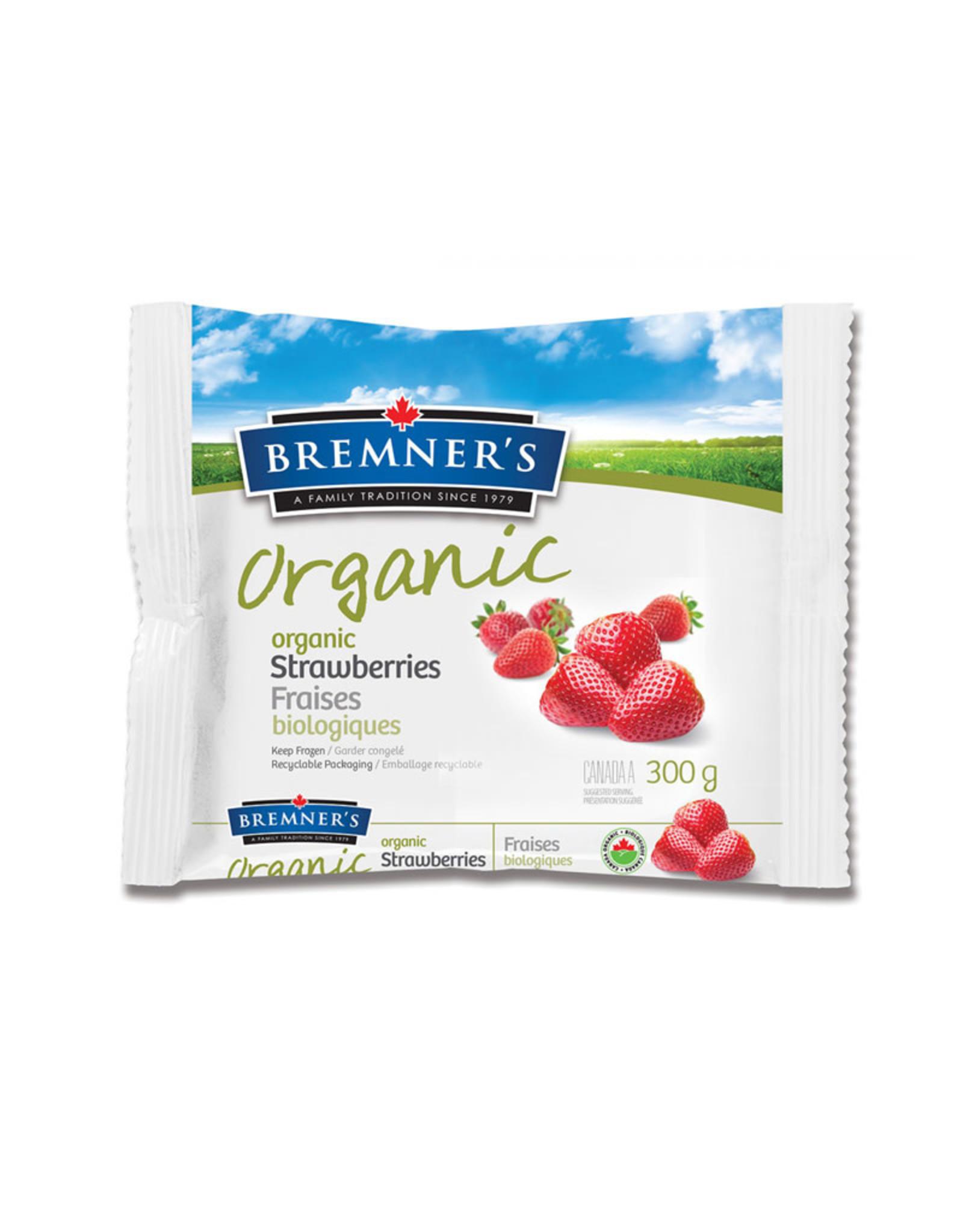 Bremners Bremners - Organic Frozen Strawberries (300g)