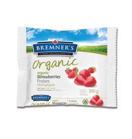 Bremners Bremners - Organic Frozen Strawberries (300g)