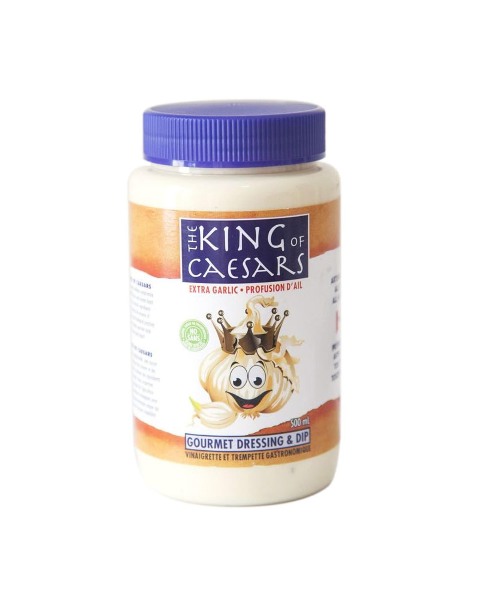 King of Caesars King of Caesars - Salad Dressing, Extra Garlic