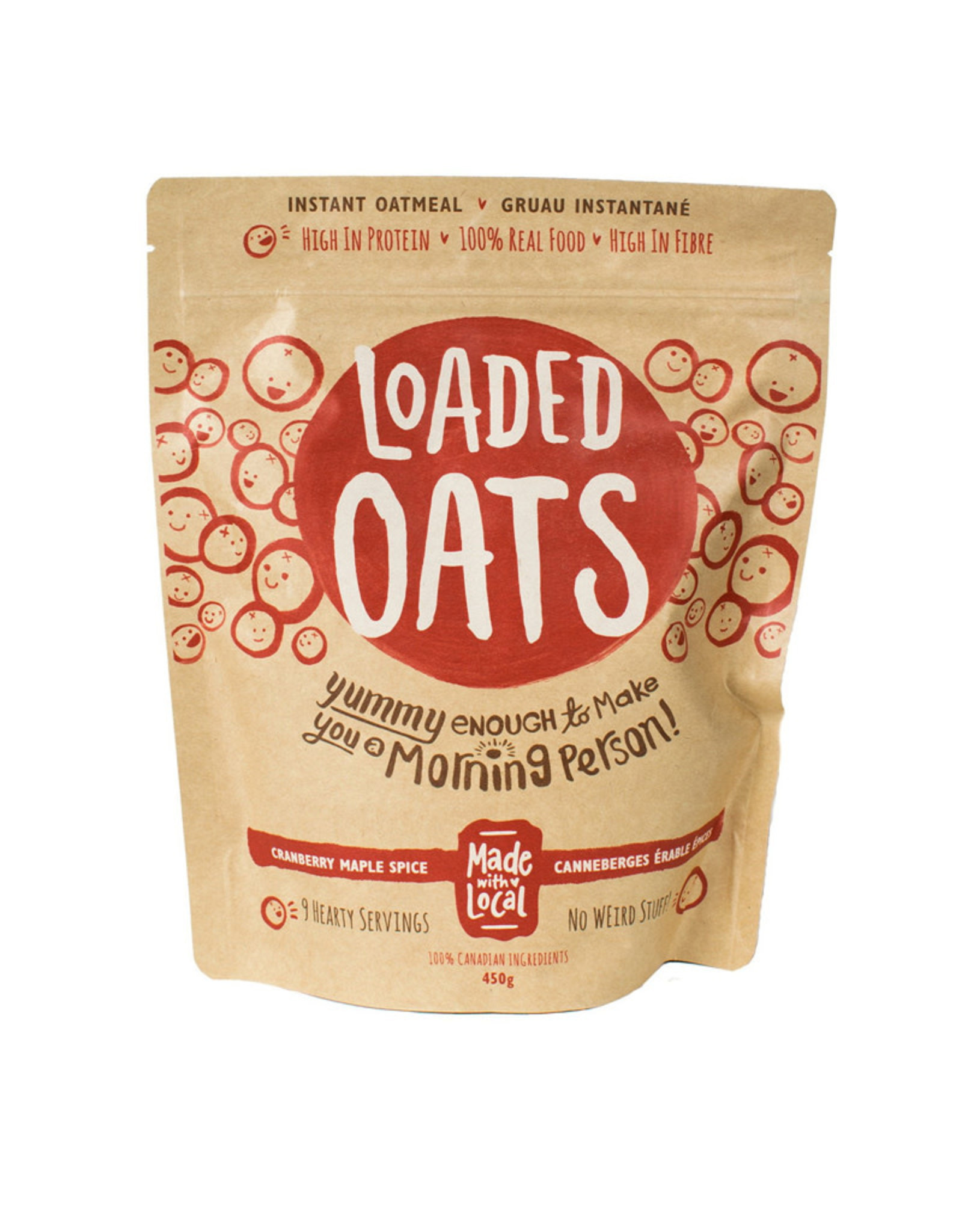 Made with Local Made with Local - Loaded Oats, Cranberry Maple Spice