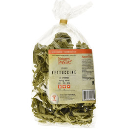 Natures Pasta Natures Pasta - Free-Run Egg Pasta, Spinach Fettuccine (454g)