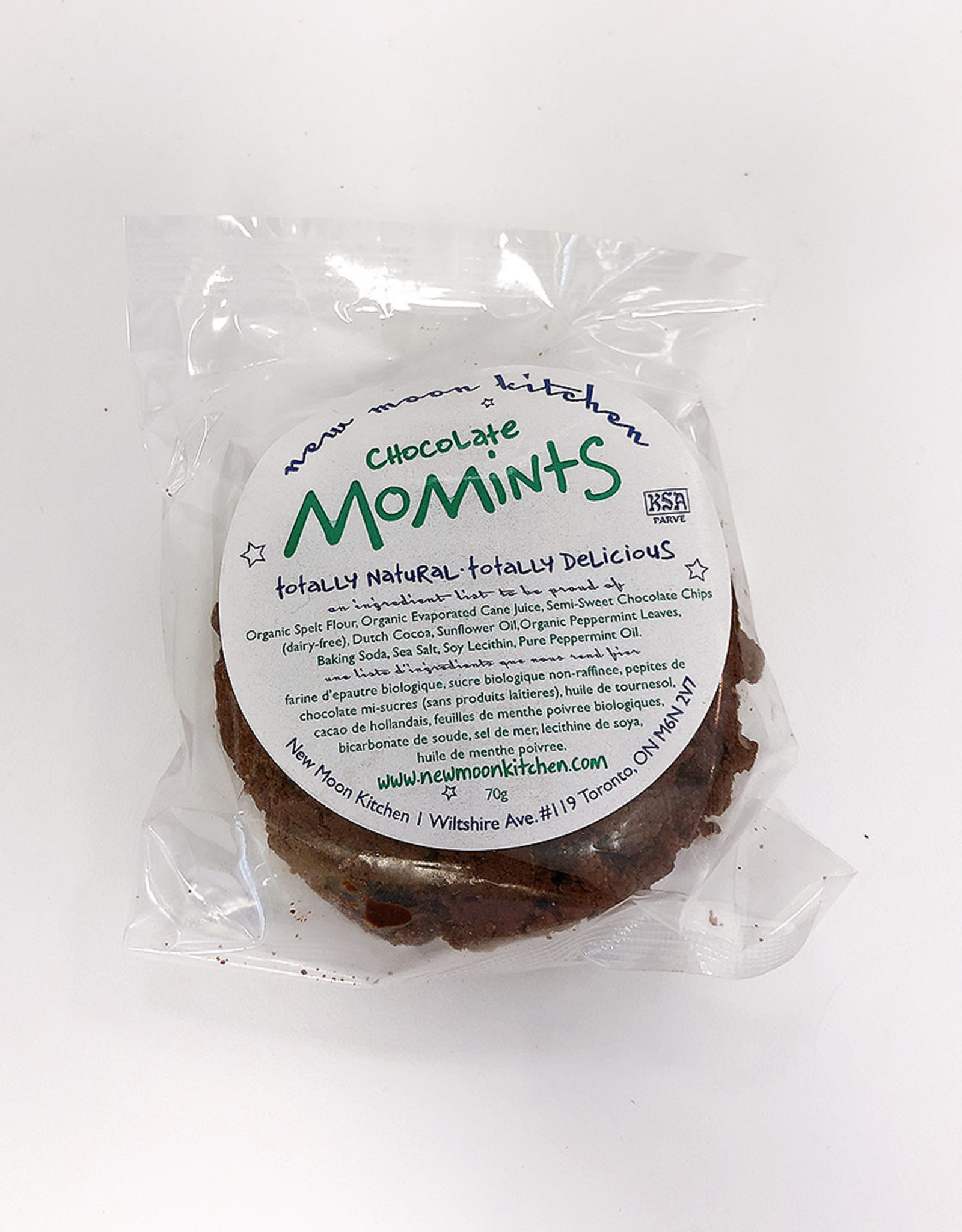 New Moon Kitchen New Moon Kitchen - Cookies, Chocolate Mint Momints (2 pk)
