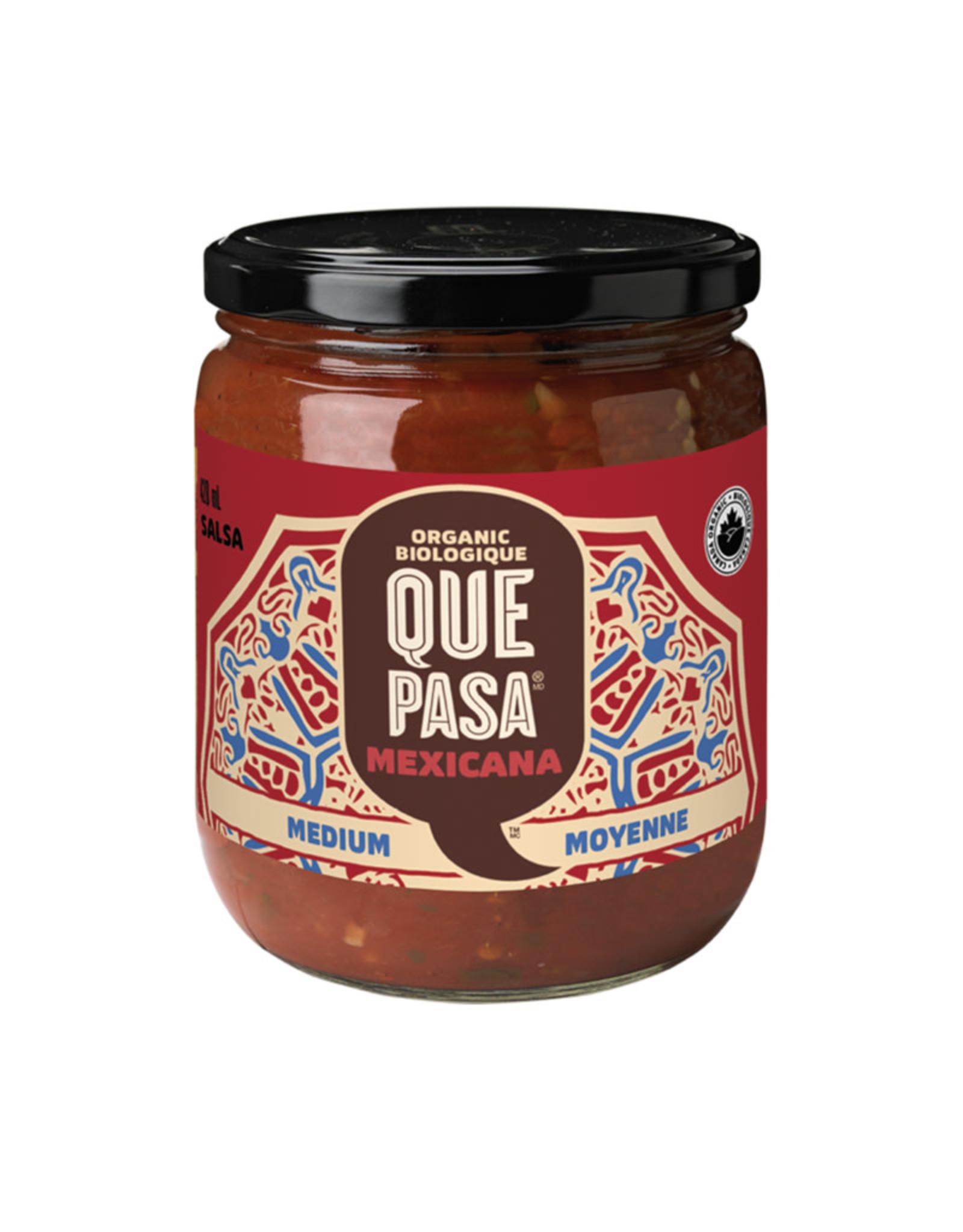 Que Pasa Que Pasa - Mexicana Salsa, Medium (420ml)