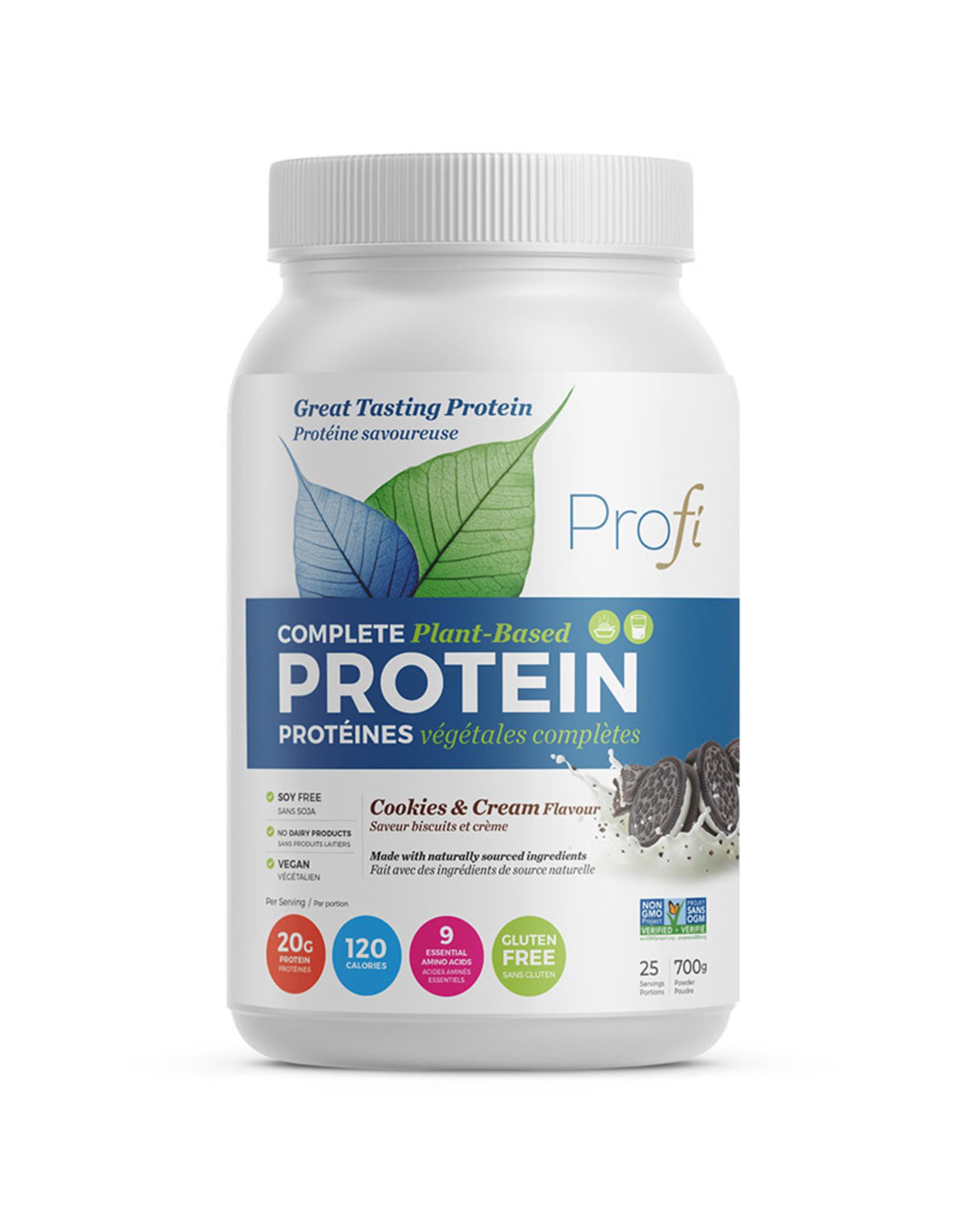 Profi Pro Inc Profi - Protein Powder, Cookies & Cream (700g)