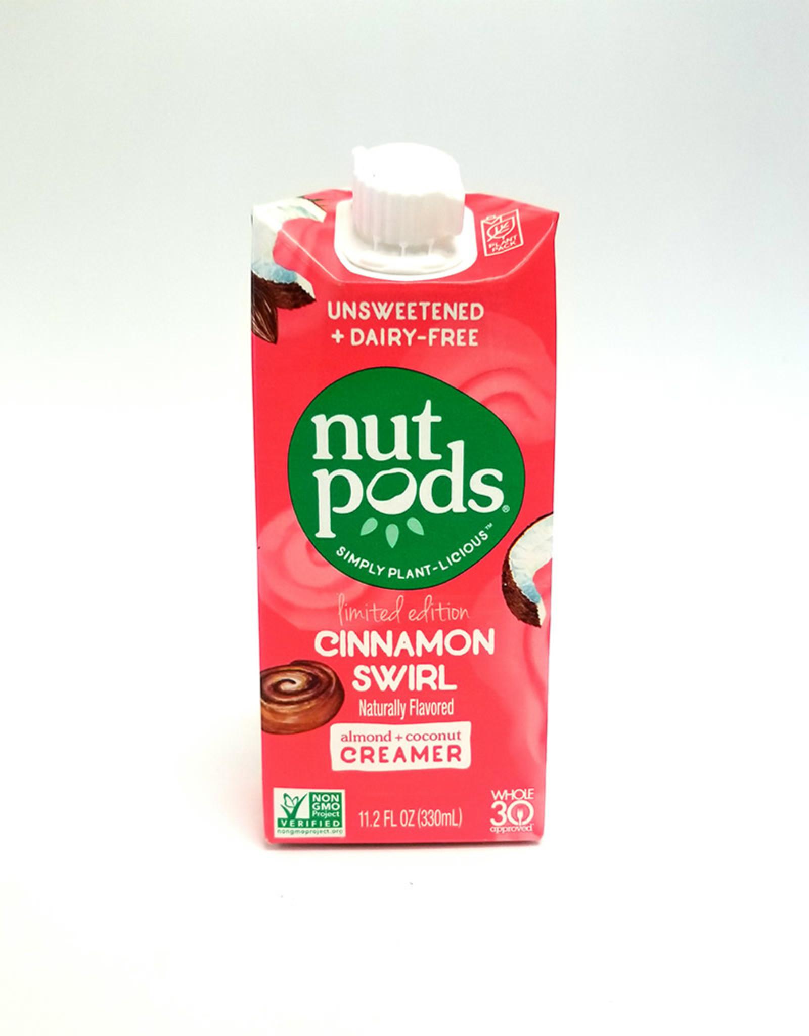 Nutpods Nutpods - Unsweetened Dairy-Free Creamer, Cinnamon Swirl (330ml)