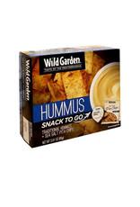 Wild Garden Wild Garden - Snack Box, Traditional Hummus & Sea Salt Pita Chips