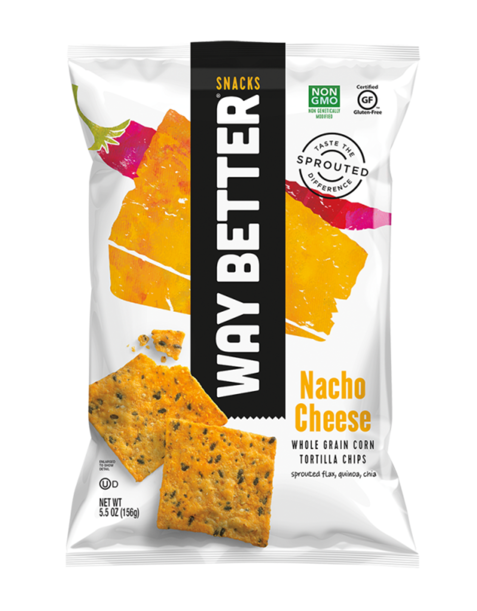 Way Better Way Better - Tortilla Chips, Nacho Cheese
