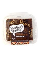 Shockingly Healthy Shockingly Healthy - Vegan Salted Peanut Butter Chocolate Chip Blondie (4pk)