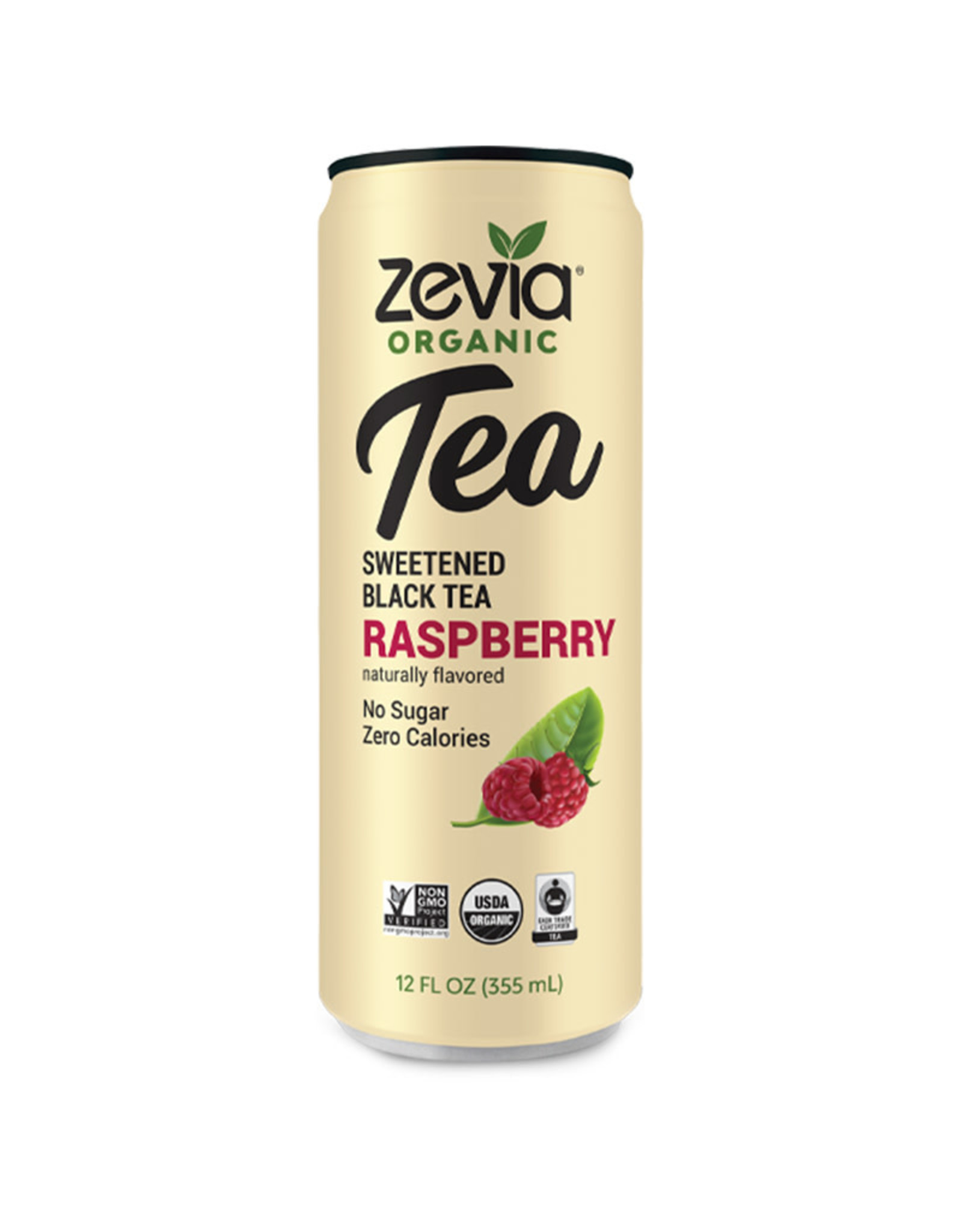 Zevia Zevia - Tea, Raspberry Black (355ml)