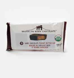 Brooklyn Born Chocolate Brooklyn - Peanut Butter Cups, Dark Chocolate (70g)