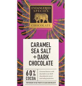 Endangered Species Endangered Species - Dark Chocolate Bar, (Eagle) Caramel & Sea salt
