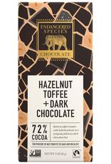 Endangered Species Endangered Species - Dark Chocolate Bar, (Rhino) Hazelnut Toffee + Dark Chocolate