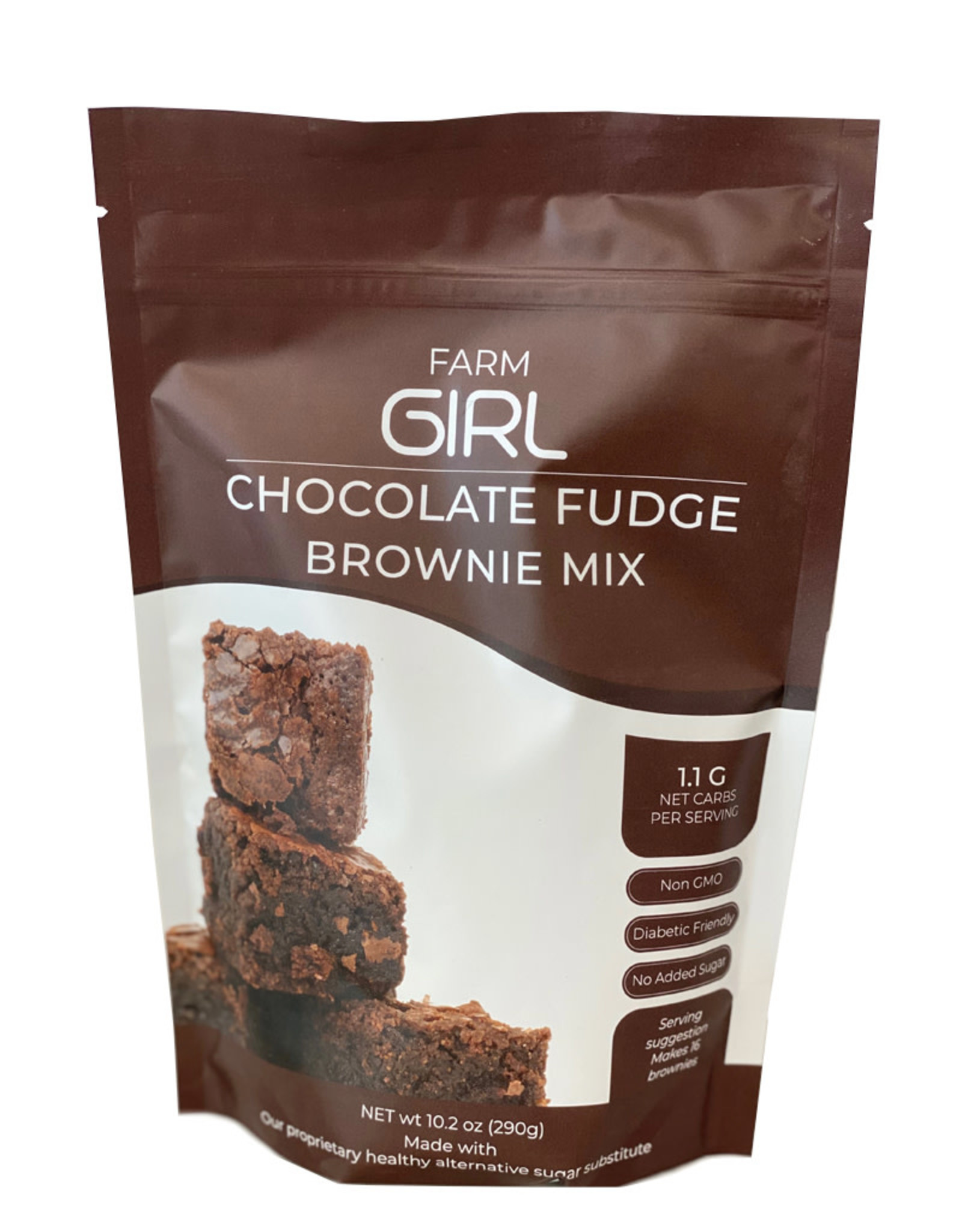 Farm Girl Farm Girl- Brownie Mix, Chocolate Fudge