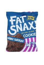 Fat Snax Fat Snax-Cookie, Double Chocolate