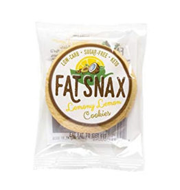 Fat Snax Fat Snax-Cookie, Lemony Lemon