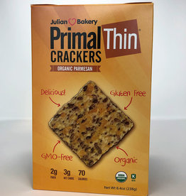 Julian Bakery Julian Bakery - Primal Thin Crackers, Organic Parmesan