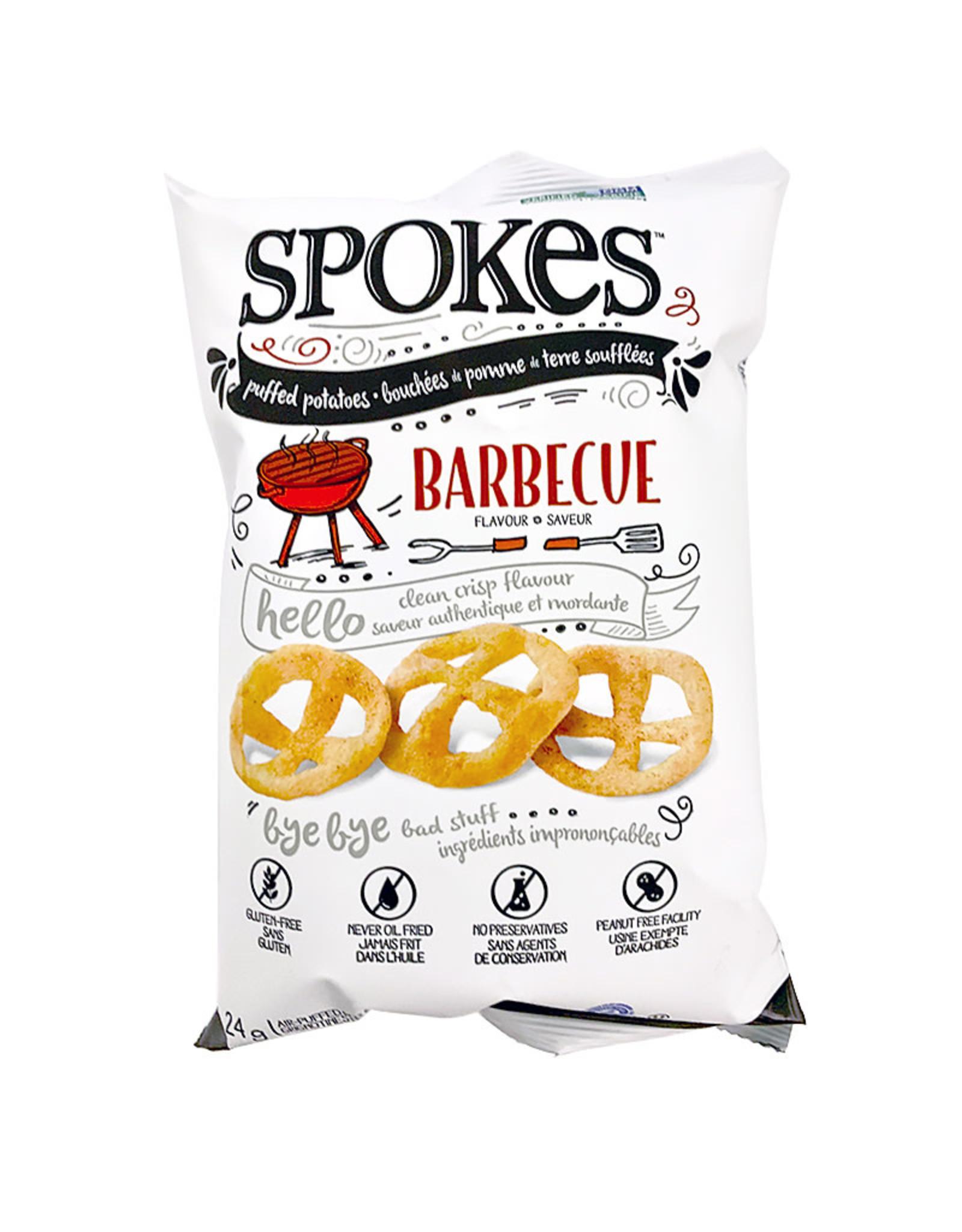 Spokes Spokes - Puffed Potatoes, BBQ (24g)