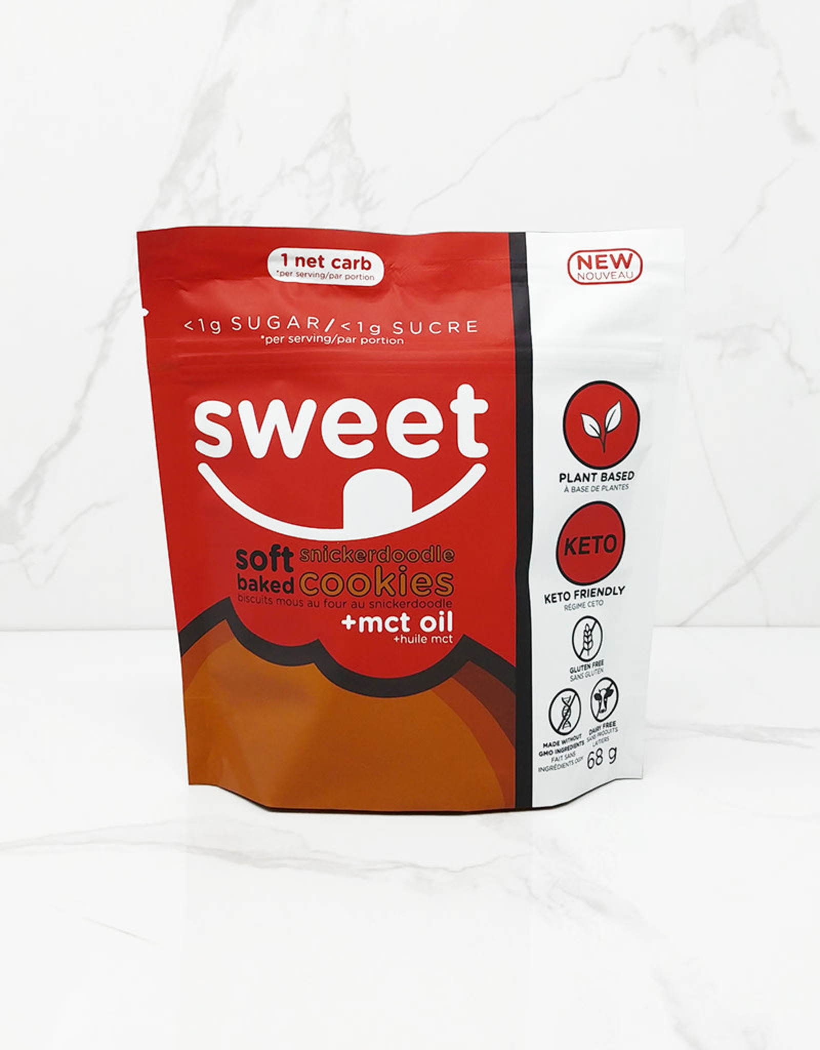 Sweet Nutrition Sweet Nutrition - Soft Baked Cookies, Snickerdoodle