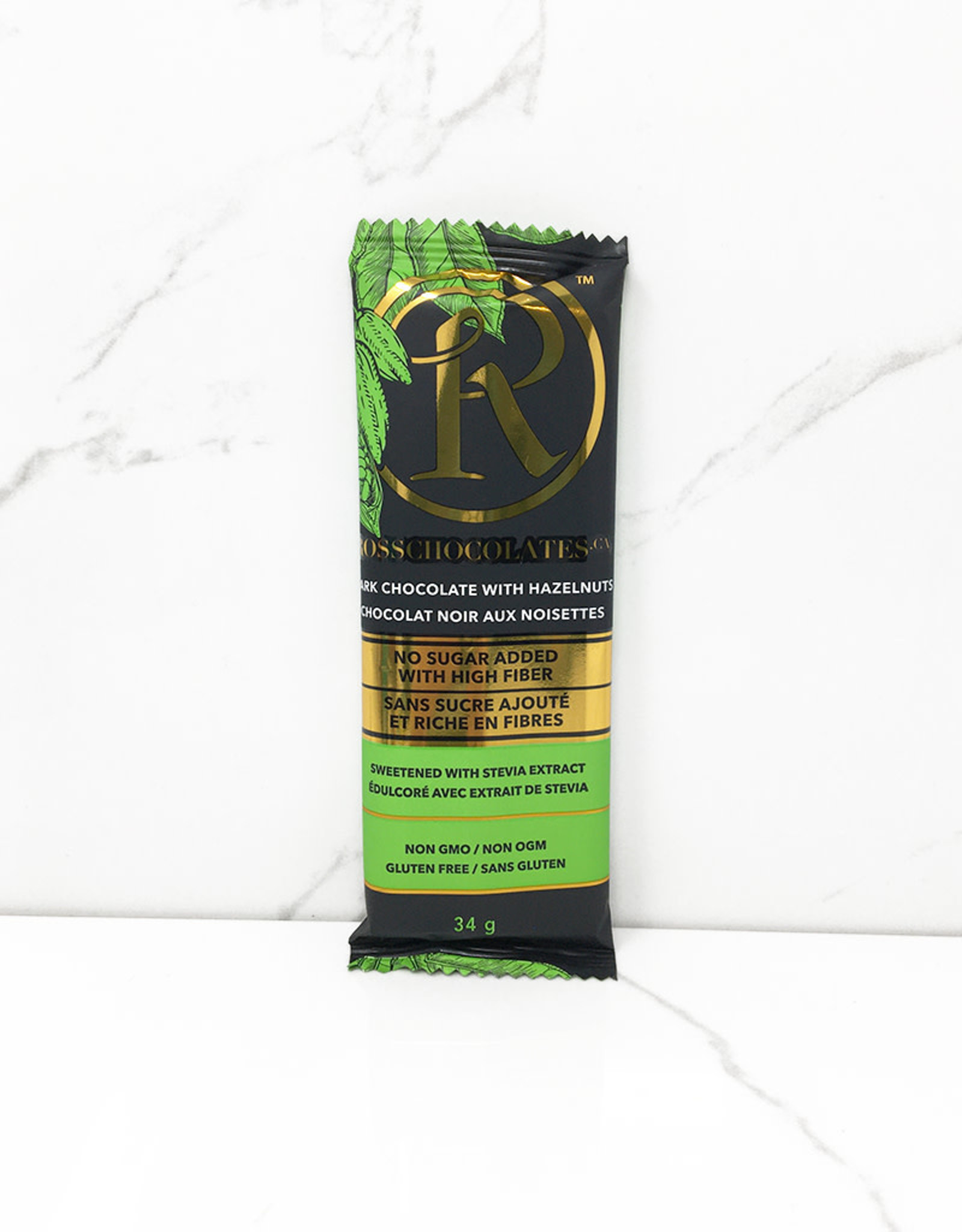 Ross Ross - Chocolate Bars, Dark Chocolate Hazelnut