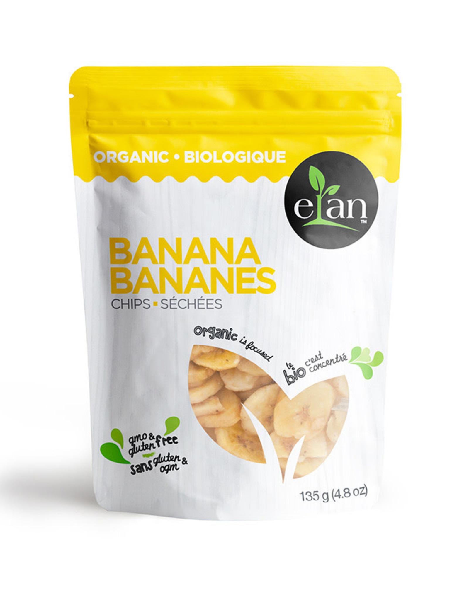 Elan Elan - Banana Chips (135g)