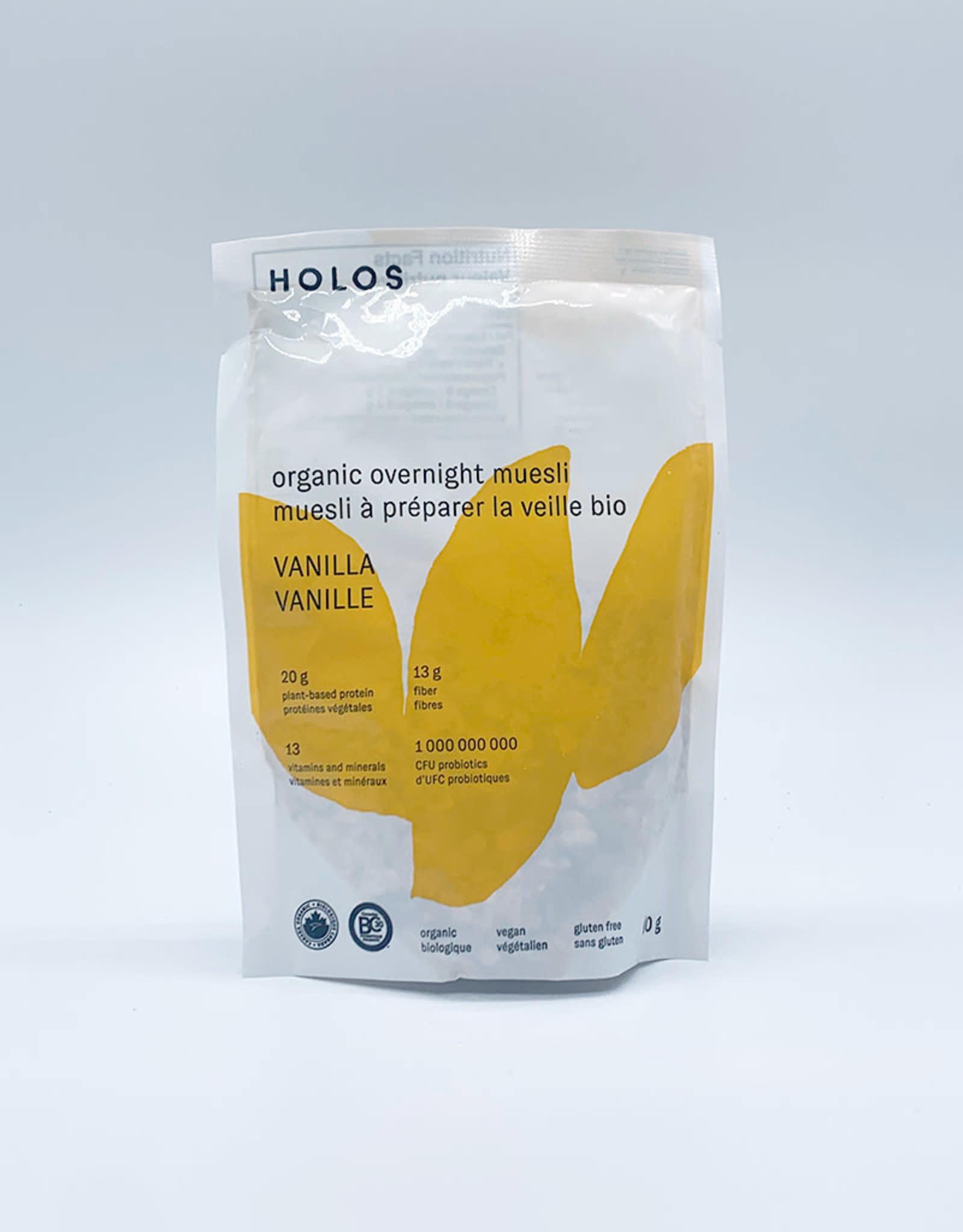 Holos Holos-Organic Overnight Muesli, Vanilla