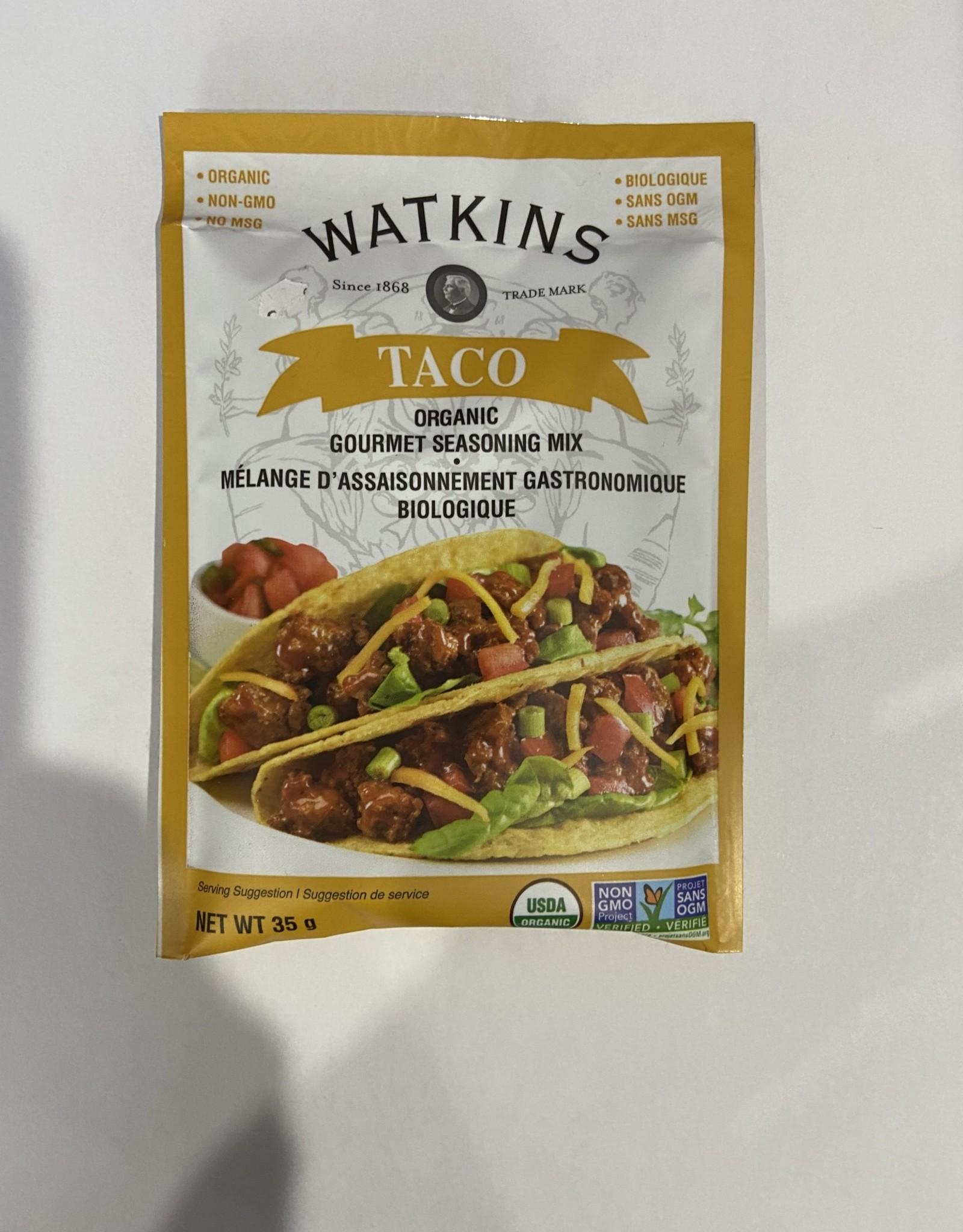Watkins Co. Watkins - Organic Seasoning Mix, Taco (35g)