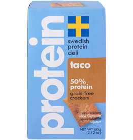 Swedish Protein Swedish Protein -  Taco Crackers, Simply Seed -70g