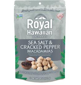 Royal Hawaiian Royal Hawaiian - Sea Salt & Cracked Pepper Macadamias (113g)