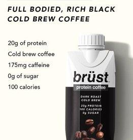 Brust Brust Protein Coffee - Dark Roast 330 ML