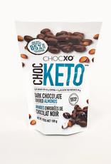 ChocXo CHOCXO - Choc Keto, Dark Chocolate Covered Almonds, 100g
