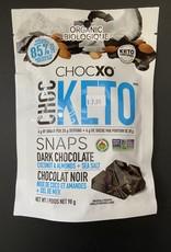 ChocXo CHOCXO - Dark Chocolate Coconut & Almonds+Sea Salt Snaps