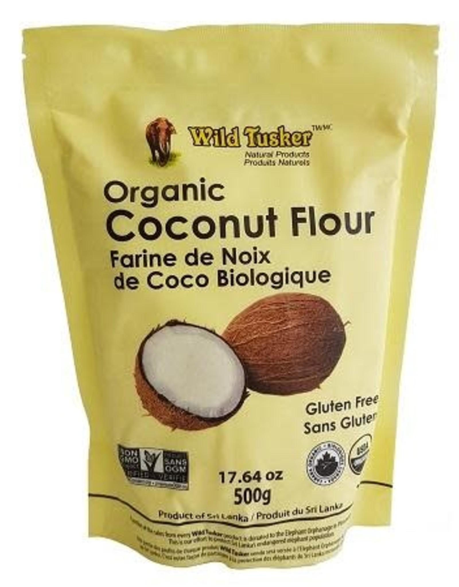 Wild Tusker Wild Tusker- Organic Coconut Flour, 500g