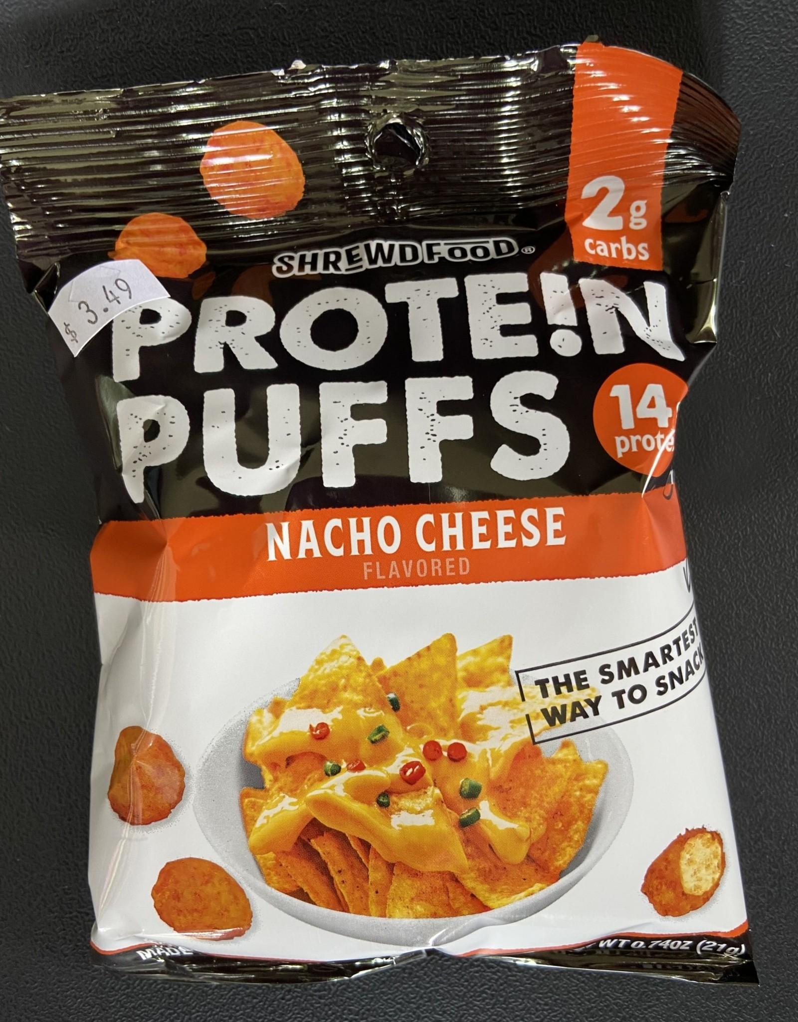 Shrewd Food Shrewd Food - Protein Puffs, Nacho Cheese, 21g
