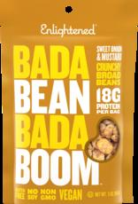 Enlightened Enlightened - Roasted Broad Bean Crisps, Sweet Onion & Mustard, 85 g