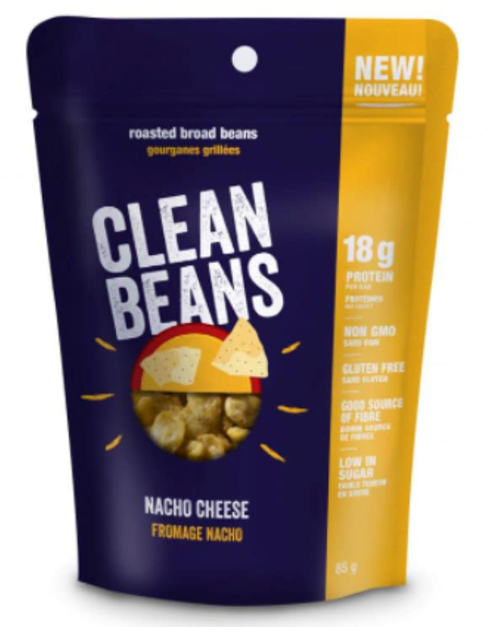 Clean Bean Clean Beans-Roasted Broad Beans, Nacho Cheese, 85g