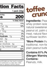Nuts 'N More Nuts 'N More-PB-Toffee Crunch, 33g