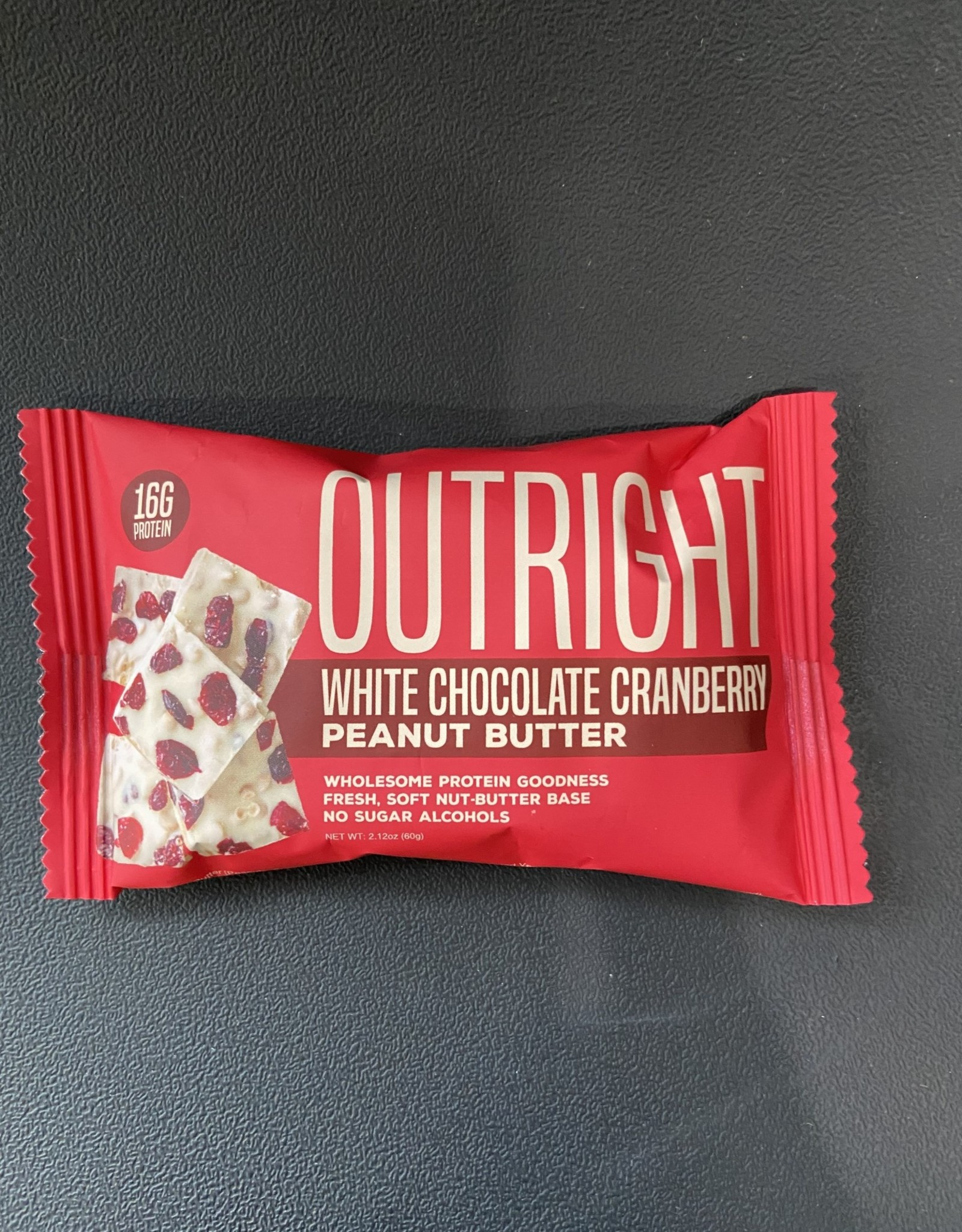 Outright Outright - Baked Bars - White Chocolate Cranberry Peanut Butter, 60g