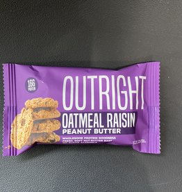 Outright Outright - Baked Bars - Oatmeal Raisin Peanut Butter, 60g