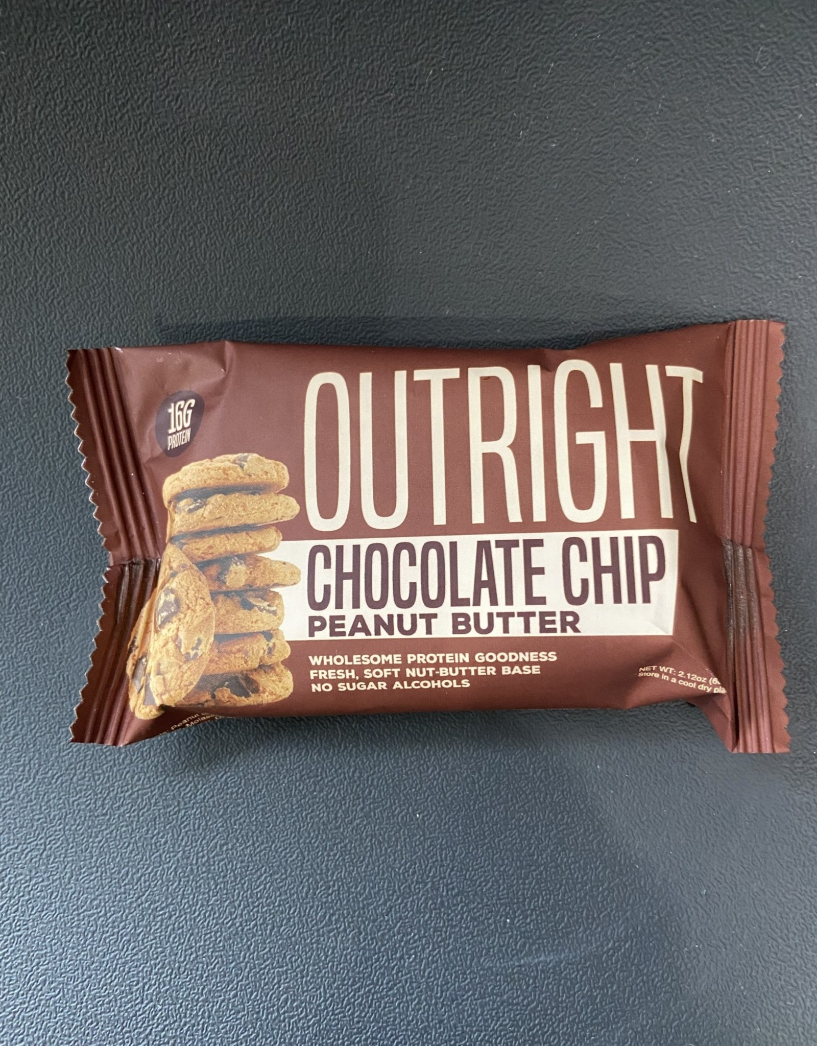 Outright Outright - Baked Bars - Chocolate Chip Peanut Butter, 60g