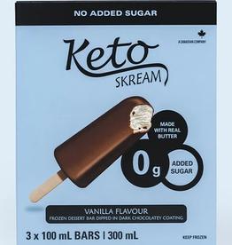 Skream Skream - Ice Cream, Vanilla Bars-Box of 3 (300 ml)