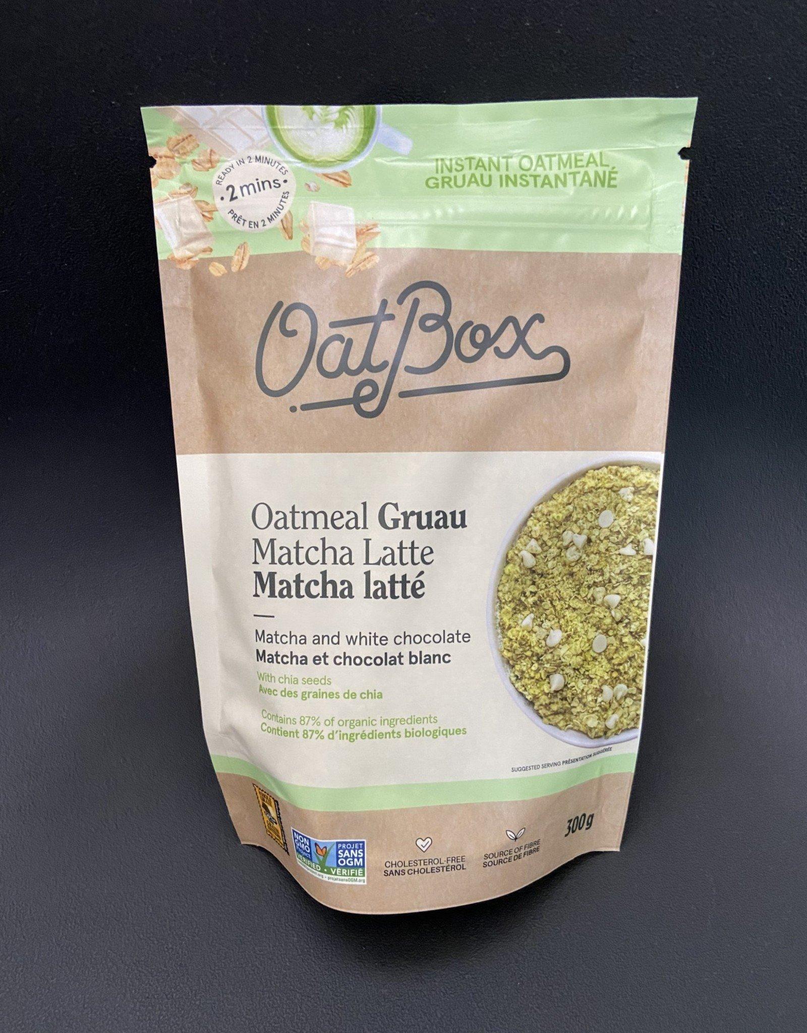 OatBox OatBox-Overnight Gruau, Matcha Latte-300g