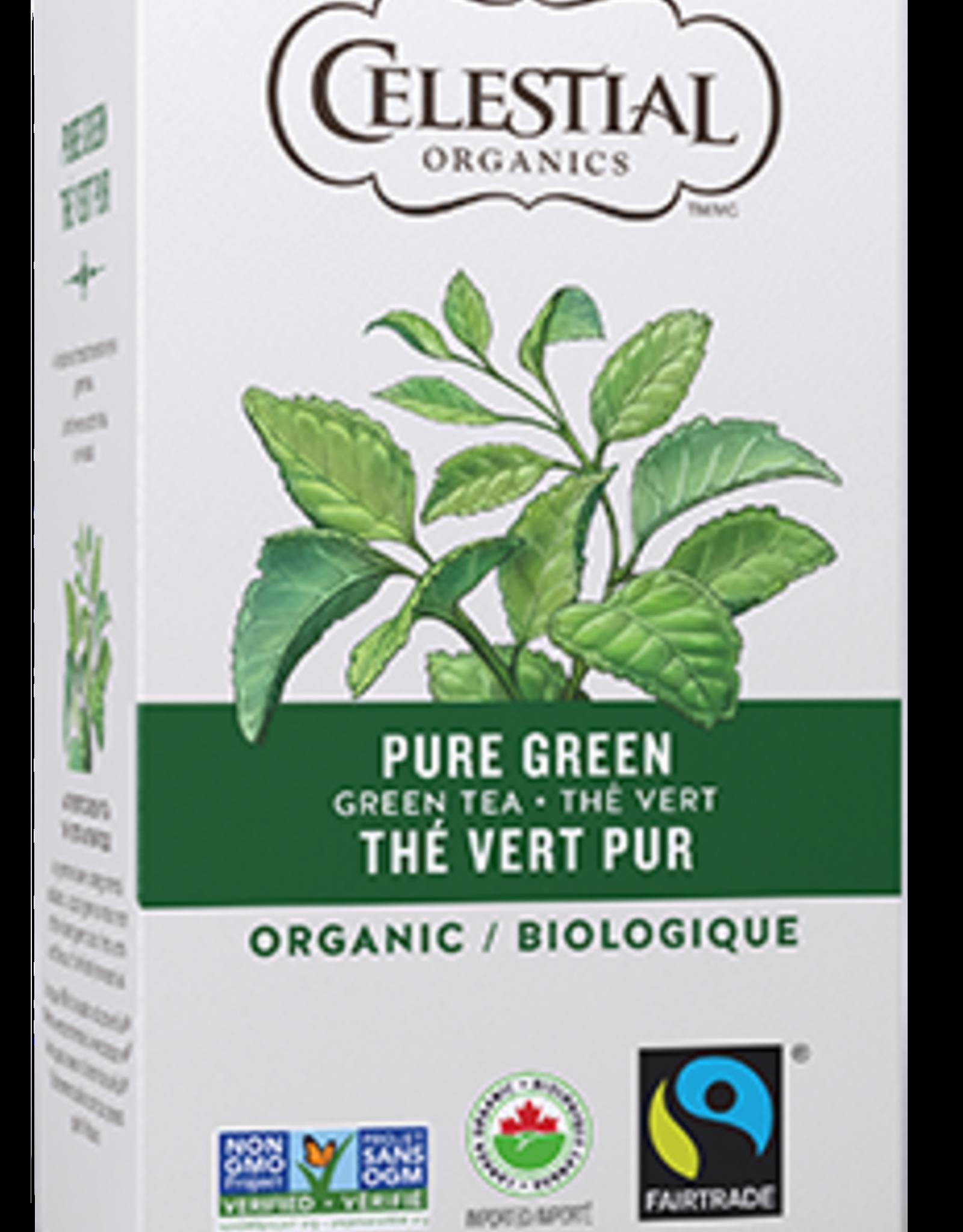 Celestial Seasonings Celestial Organics - Tea, Pure Green (30g)