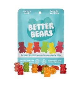 Better Bears Better Bears - Gummy Bears-Variety Pack, 50g