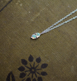 Tashi Double Opal Necklace