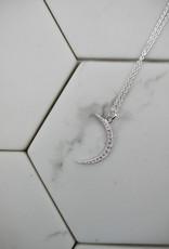 Tashi Crescent Moon Necklace